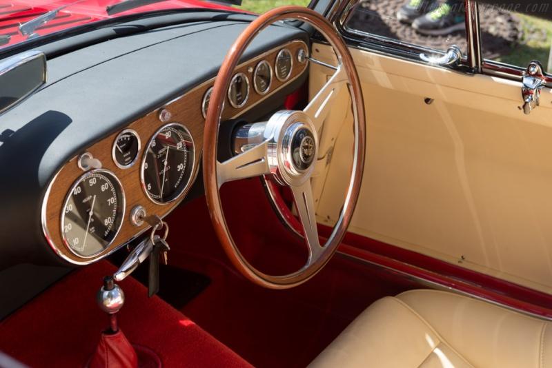 Pininfarina Superflow .  1956 -1960 Alfa-r12