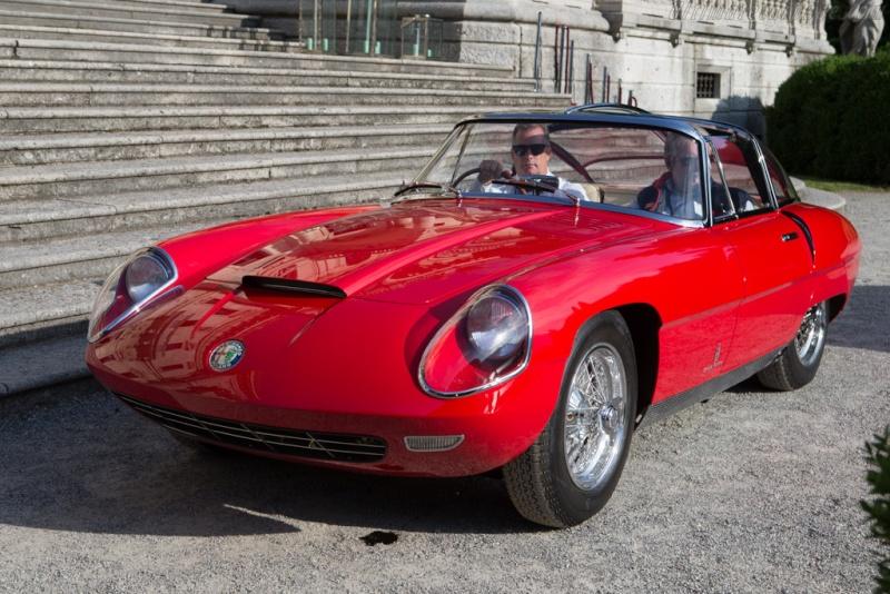 Pininfarina Superflow .  1956 -1960 Alfa-r17