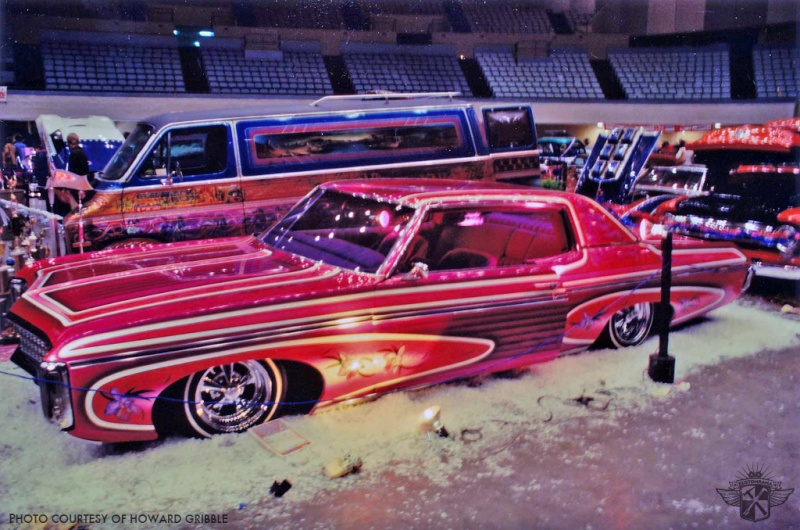 Howard Gribble - photographer and a lowrider and custom car historian from Torrance, California Art-va10