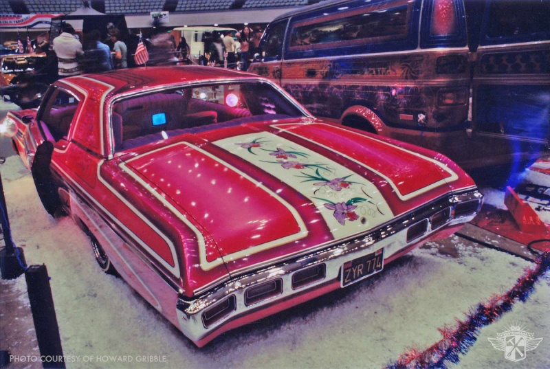 Howard Gribble - photographer and a lowrider and custom car historian from Torrance, California Art-va11