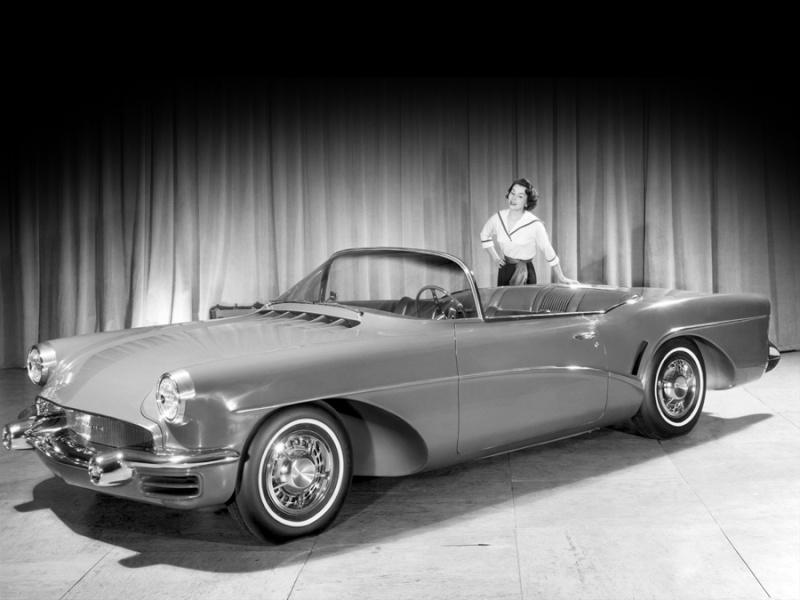 Buick Wildcat 3 -  dream car - concept car - 1955  Bcvbnn10