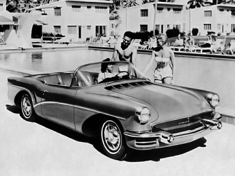 Buick Wildcat 3 -  dream car - concept car - 1955  Buick_10