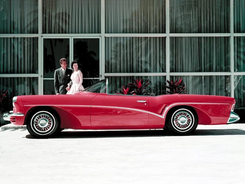 Buick Wildcat 3 -  dream car - concept car - 1955  Buick_11