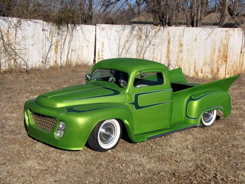 Ford¨Pick up 1948 - 1951 custom & mild custom Burris10