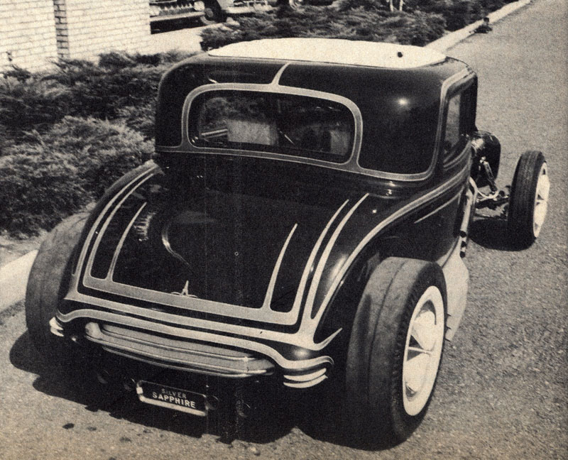 The Little Deuce Coupe - The Silver Sapphire - Clarence Catallo's 1932 Ford Claren11