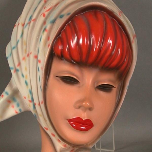 Wandmaske - Tête murale - Wall-mask Corten10