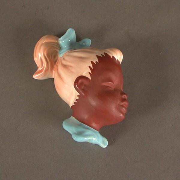 Wandmaske - Tête murale - Wall-mask Corten25