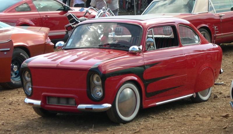Italian Classic Cars Custom & mild customs Dscn5410