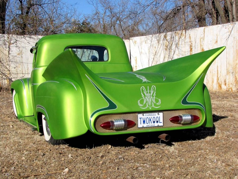 Ford¨Pick up 1948 - 1951 custom & mild custom Egege10