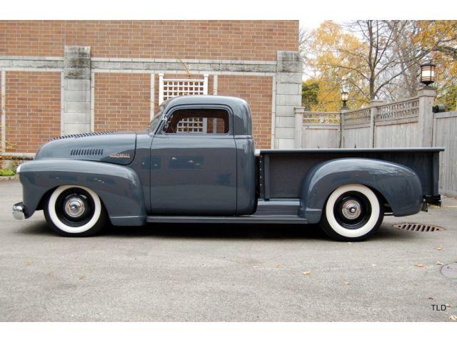 Chevy Pick up 1947 - 1954 custom & mild custom - Page 3 Ergger10