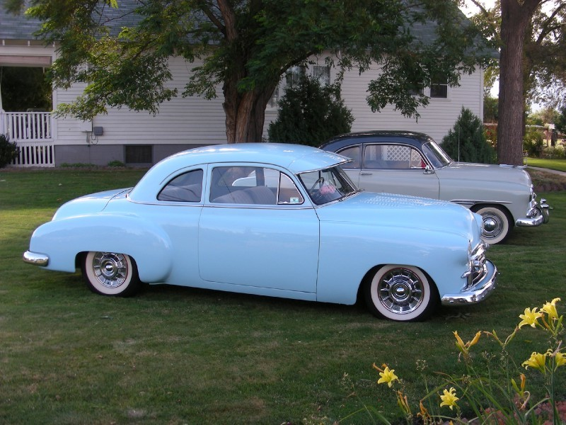 Chevy 1949 - 1952 customs & mild customs galerie - Page 12 Fsdf14
