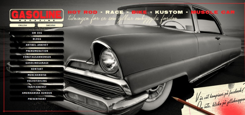 Gasoline magazine - Magazine suedois Hot Rods, Kustoms & Muscle Cars Gasoli10