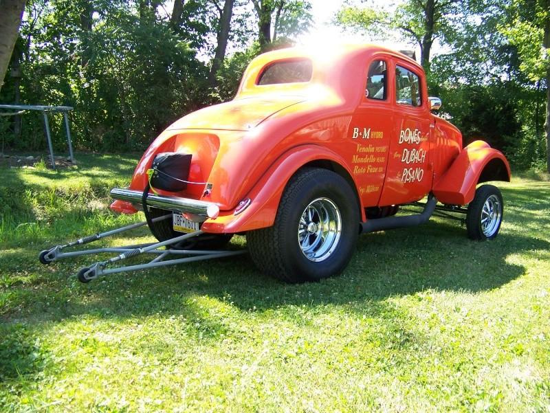 1933 - 1936 Willys gasser Hkh10
