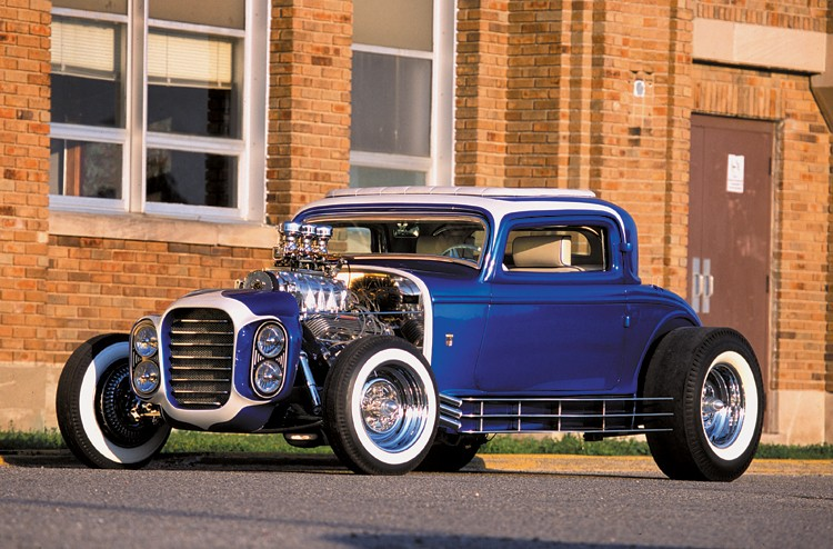 The Little Deuce Coupe - The Silver Sapphire - Clarence Catallo's 1932 Ford Hot_ro10