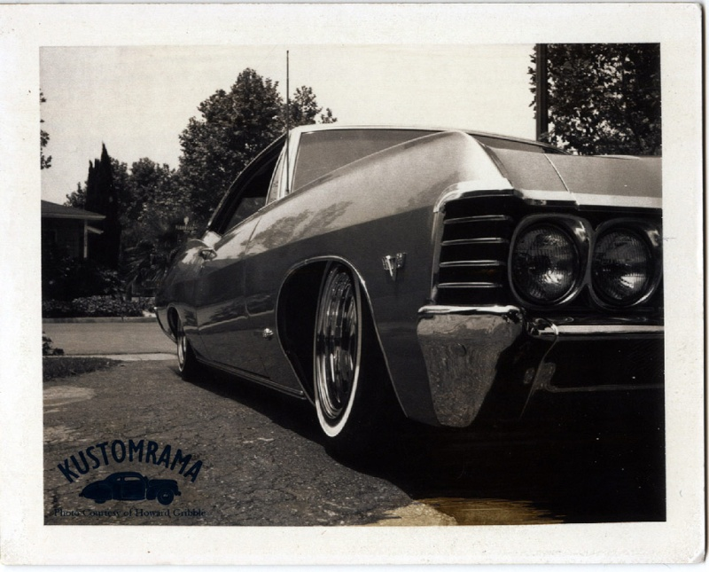 Howard Gribble - photographer and a lowrider and custom car historian from Torrance, California Howard10