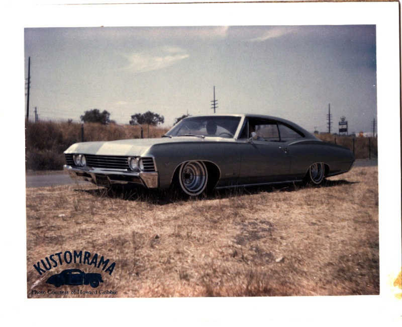 Howard Gribble - photographer and a lowrider and custom car historian from Torrance, California Howard11
