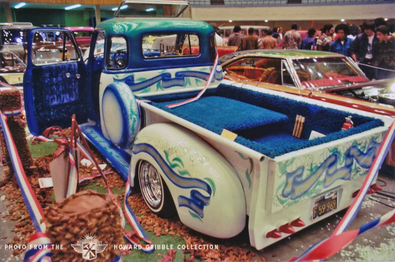 Howard Gribble - photographer and a lowrider and custom car historian from Torrance, California Howard13