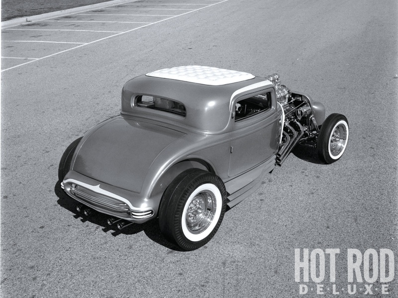 The Little Deuce Coupe - The Silver Sapphire - Clarence Catallo's 1932 Ford Hrxp-110