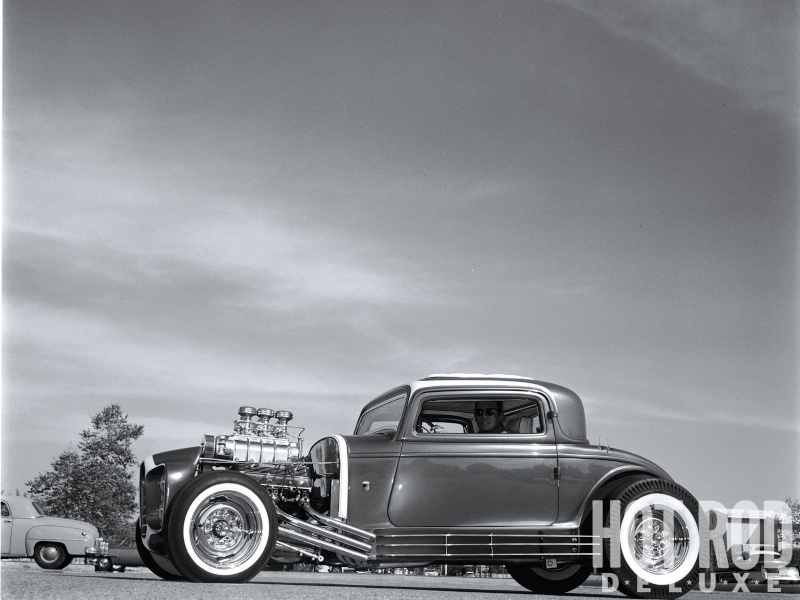 The Little Deuce Coupe - The Silver Sapphire - Clarence Catallo's 1932 Ford Hrxp-114