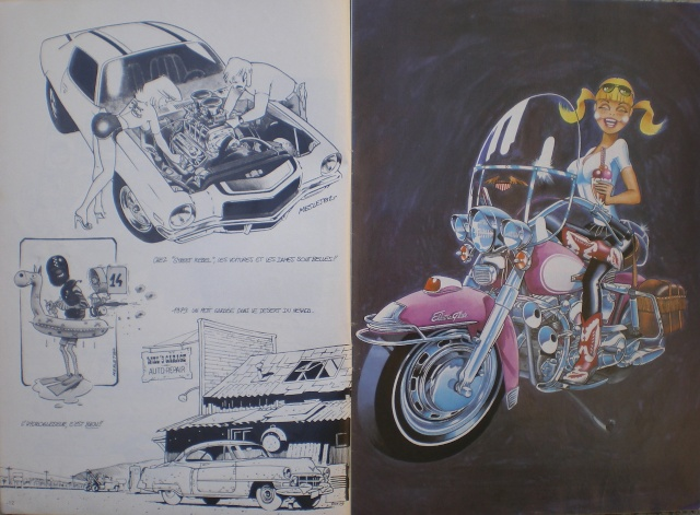 Pascal Meslet - custom , hot rod & VW illustrateur Imgp4114