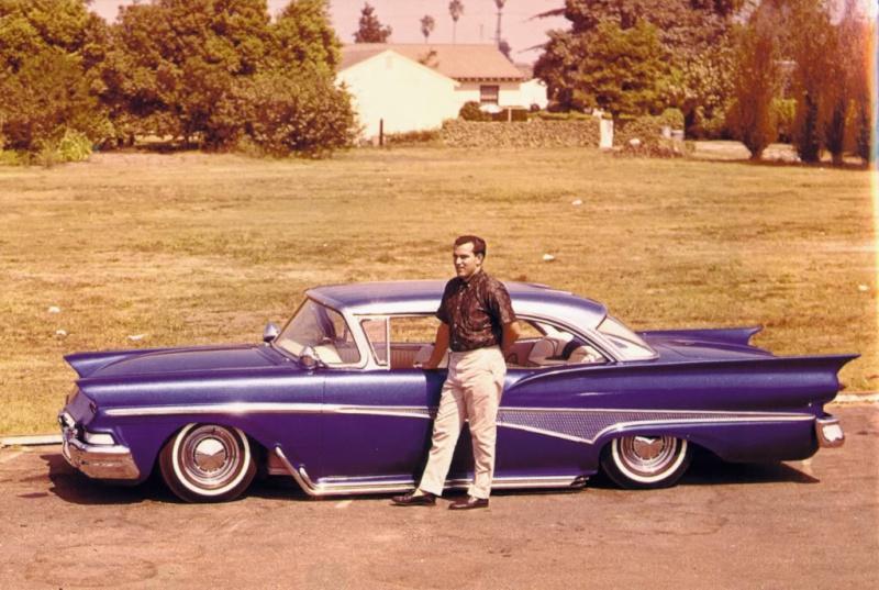Ford 1957 & 1958 custom & mild custom  - Page 3 Johnny10