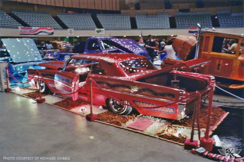 Howard Gribble - photographer and a lowrider and custom car historian from Torrance, California Kustom12