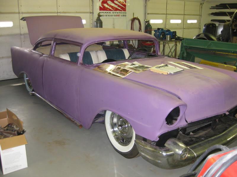 Chevy 1956 custom & mild custom - Page 3 Lanny-13