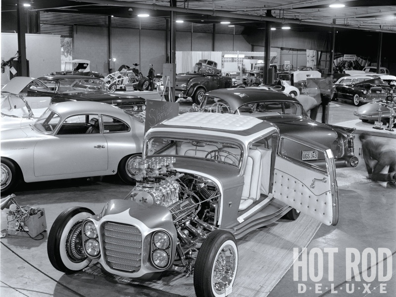 The Little Deuce Coupe - The Silver Sapphire - Clarence Catallo's 1932 Ford Little21