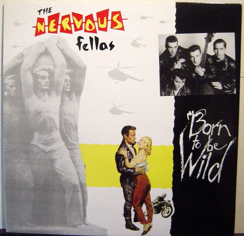 The Nervous Fellas - Real gone lover  Lp10