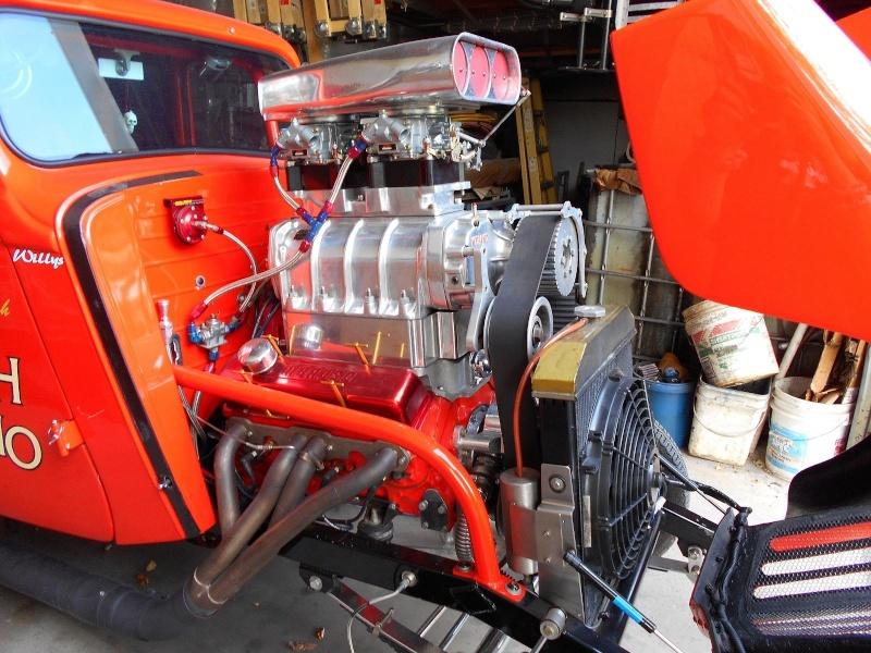 1933 - 1936 Willys gasser Mlk10