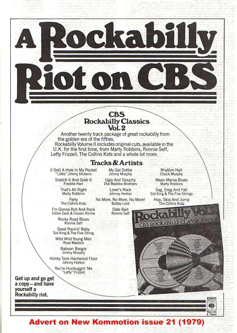 CBS Rockabilly - various artists New_ko11