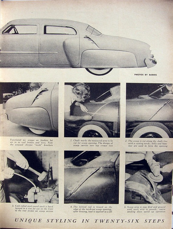 1947 Studebaker - Modern Grecian - Earl Wilson's - George Barris P8060911