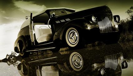 Pontiac 1930's & 1940's custom & mild custom Pontia14