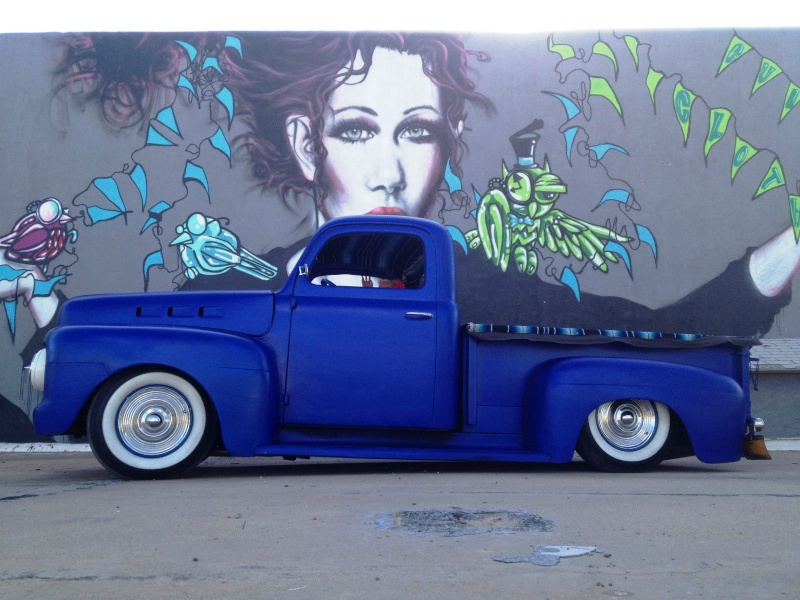 Ford¨Pick up 1948 - 1951 custom & mild custom Rte10