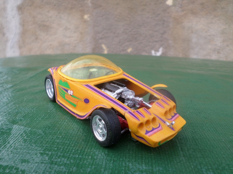 Bubble top, Dream car and show rod - Model kit and Diecasts Sam_1410