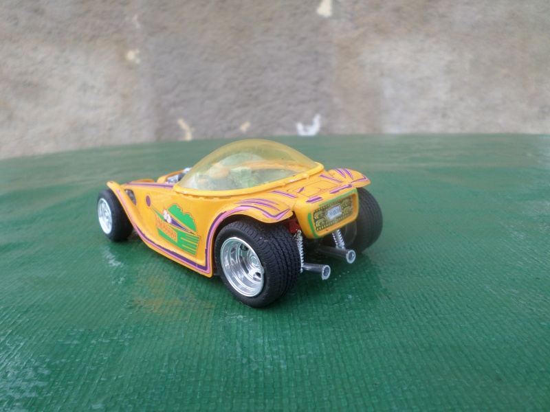 Bubble top, Dream car and show rod - Model kit and Diecasts Sam_1411