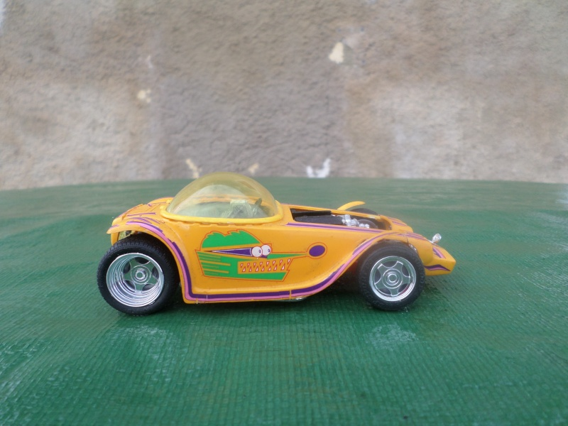 Bubble top, Dream car and show rod - Model kit and Diecasts Sam_1412