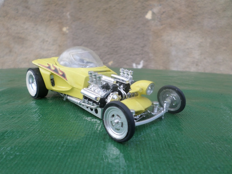 Bubble top, Dream car and show rod - Model kit and Diecasts Sam_1413