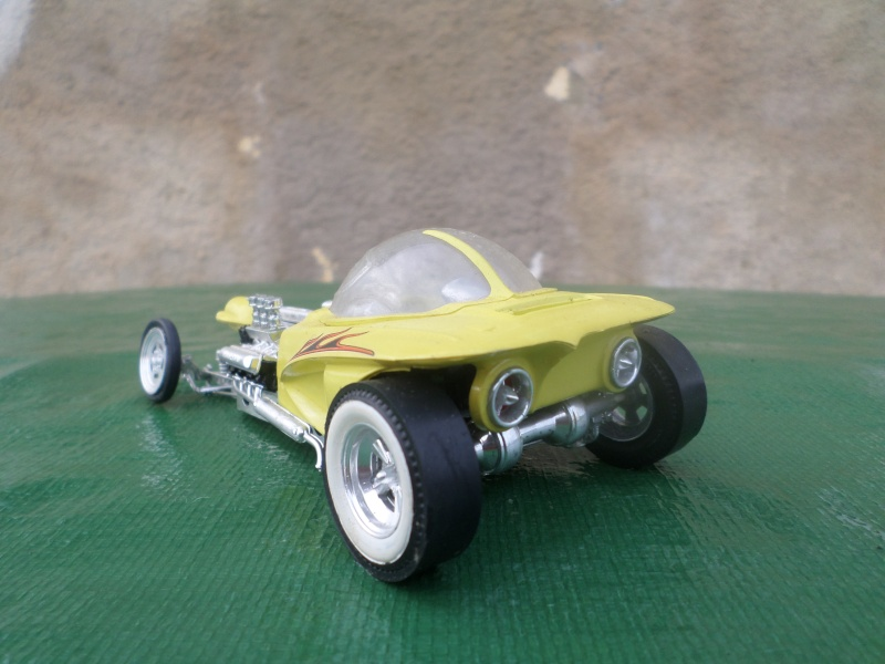Bubble top, Dream car and show rod - Model kit and Diecasts Sam_1414