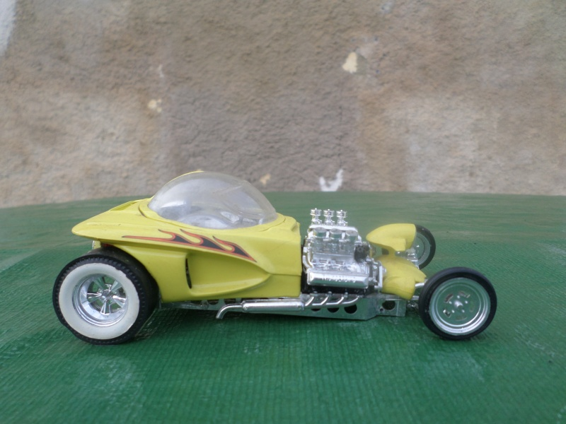 Bubble top, Dream car and show rod - Model kit and Diecasts Sam_1415