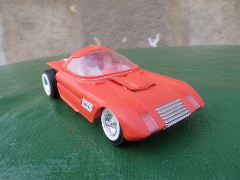 Bubble top, Dream car and show rod - Model kit and Diecasts Sam_1416