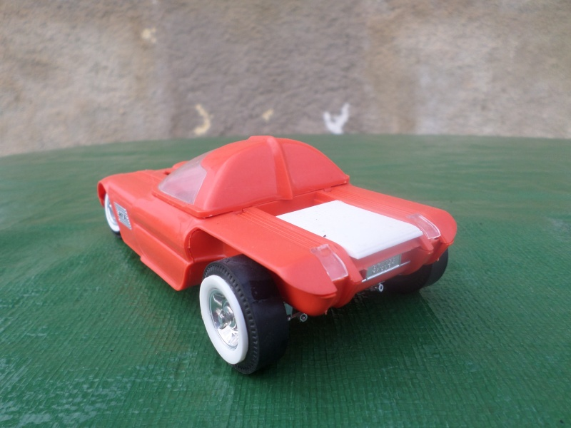 Bubble top, Dream car and show rod - Model kit and Diecasts Sam_1417