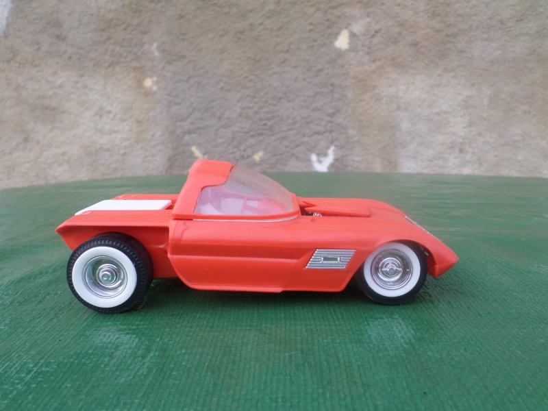 Bubble top, Dream car and show rod - Model kit and Diecasts Sam_1418