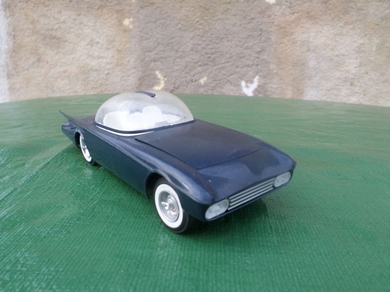 Bubble top, Dream car and show rod - Model kit and Diecasts Sam_1419