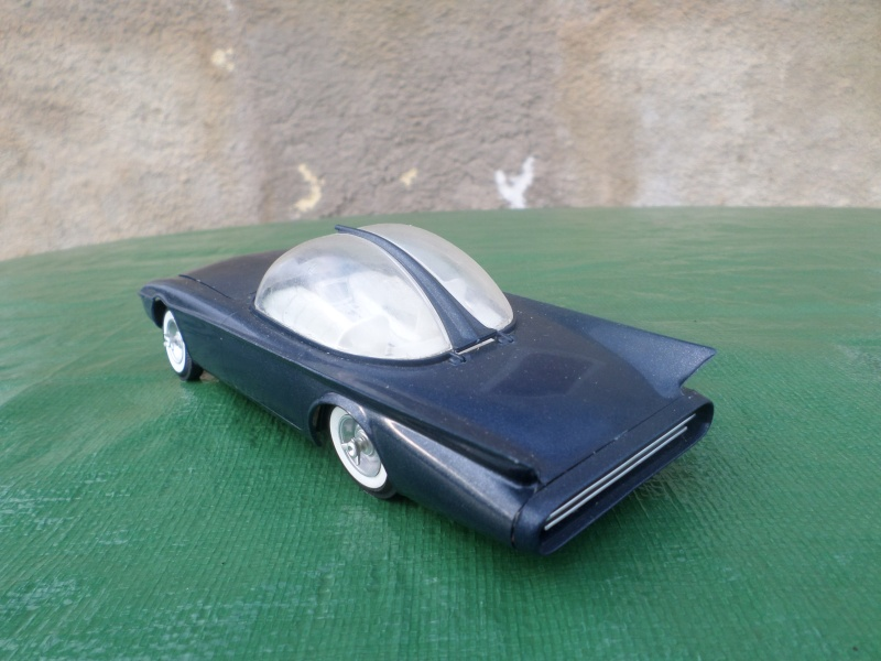 Bubble top, Dream car and show rod - Model kit and Diecasts Sam_1420
