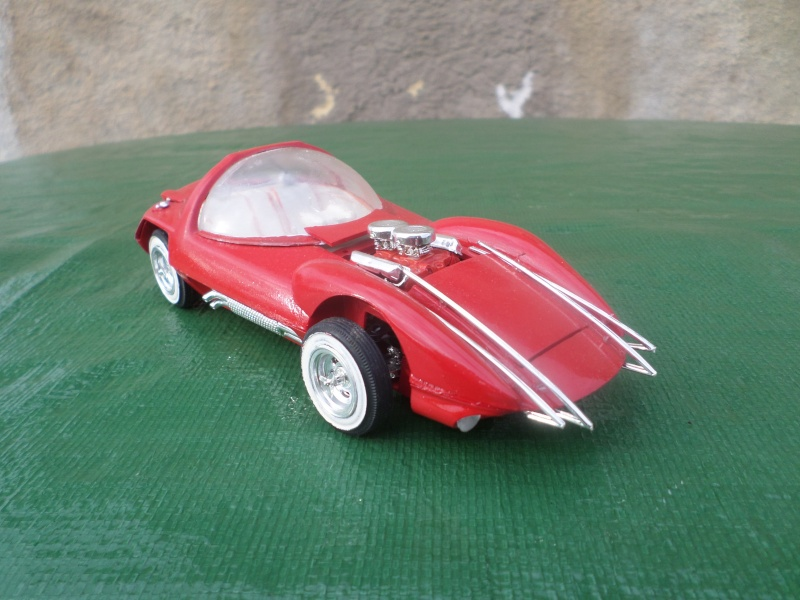 Bubble top, Dream car and show rod - Model kit and Diecasts Sam_1422
