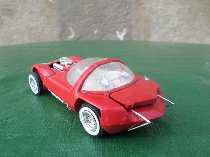 Bubble top, Dream car and show rod - Model kit and Diecasts Sam_1423