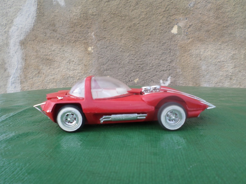 Bubble top, Dream car and show rod - Model kit and Diecasts Sam_1424