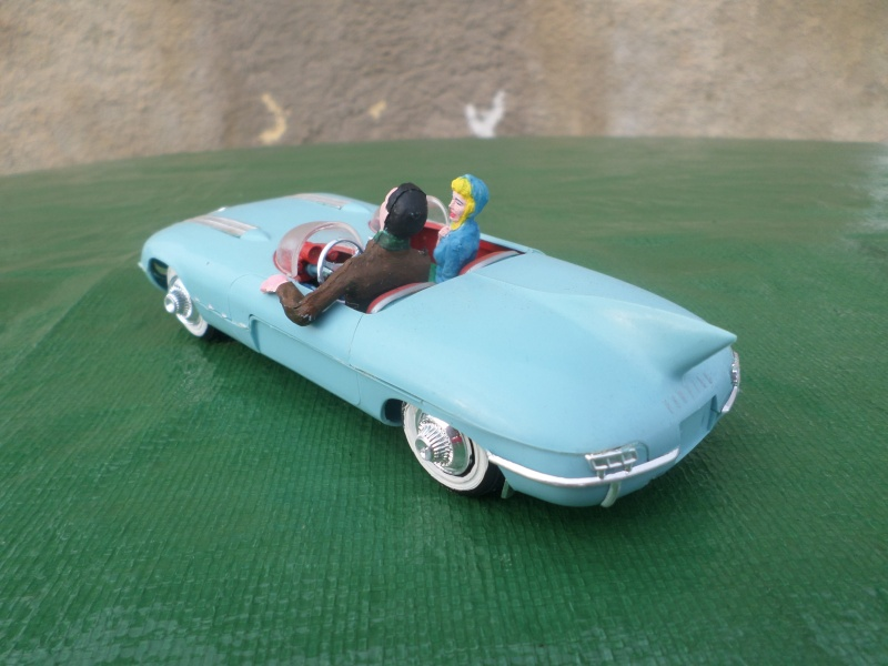 Bubble top, Dream car and show rod - Model kit and Diecasts Sam_1426