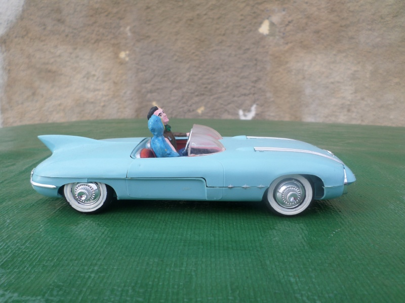 Bubble top, Dream car and show rod - Model kit and Diecasts Sam_1427